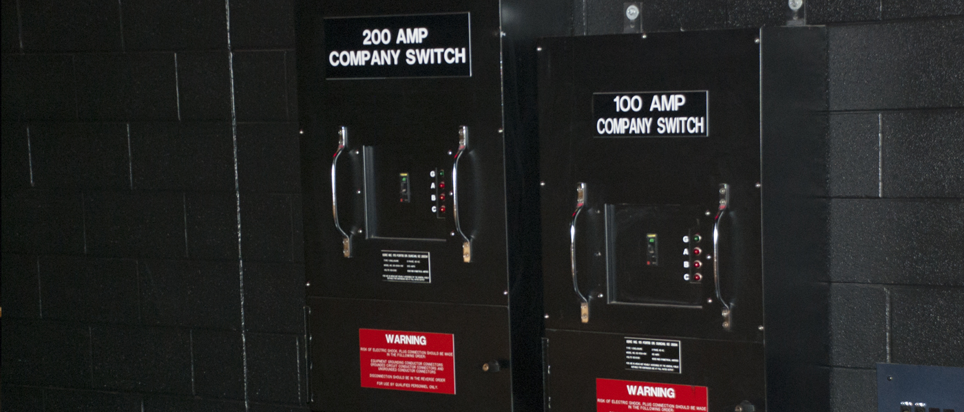 SSRC Theatrical Distribution Products   LED Lighting Control Panel